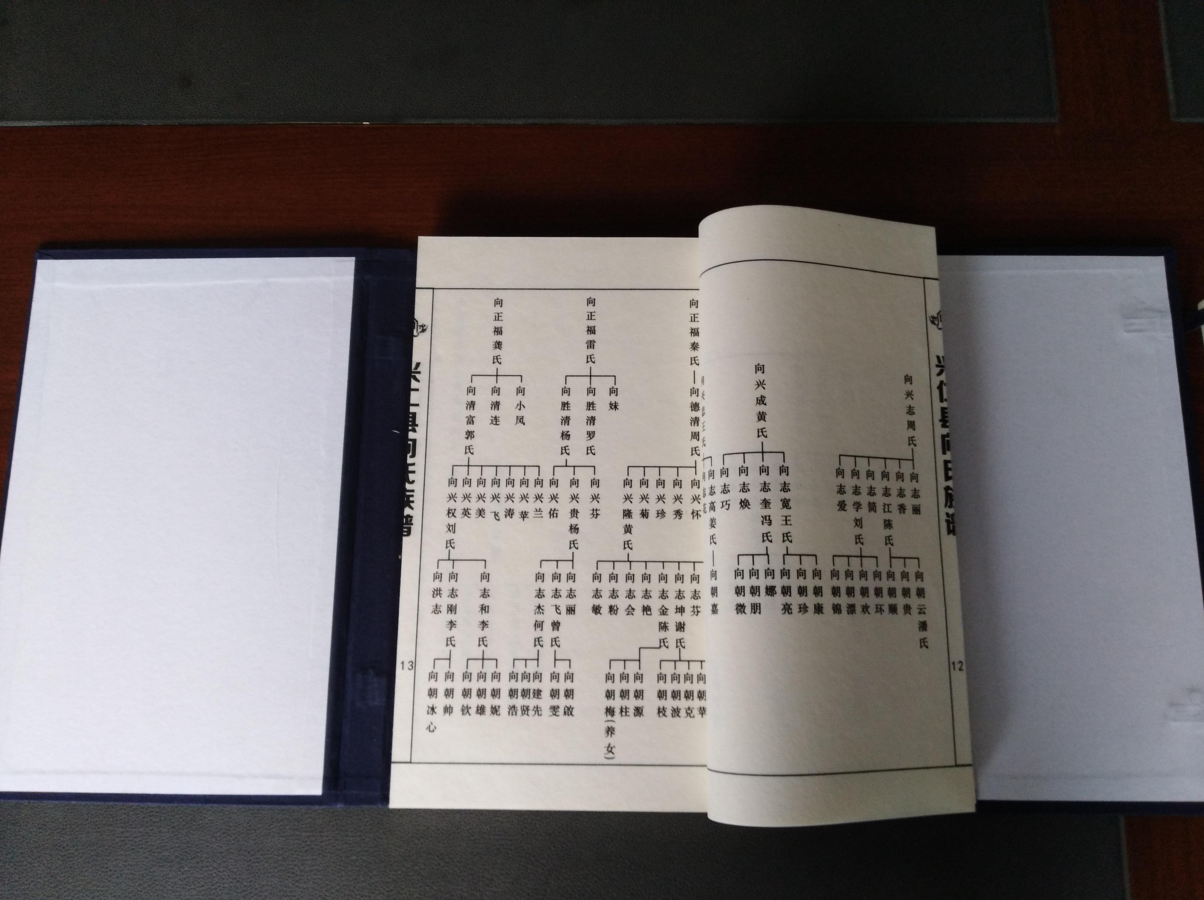 族譜印刷排版
