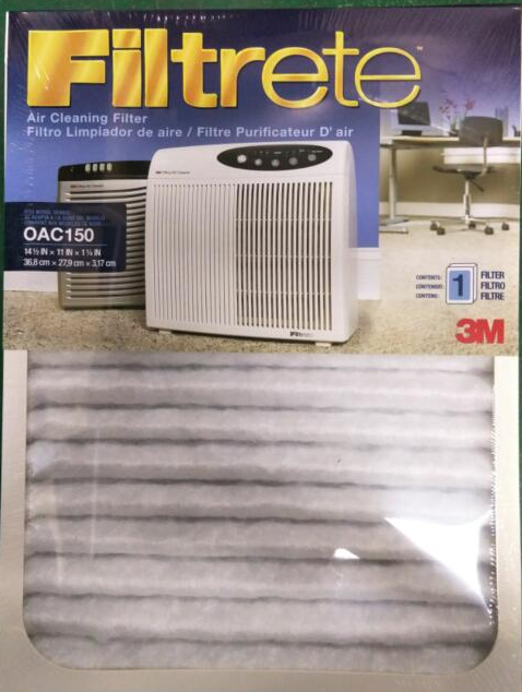 3M OAC150RF空气净化器过滤盒