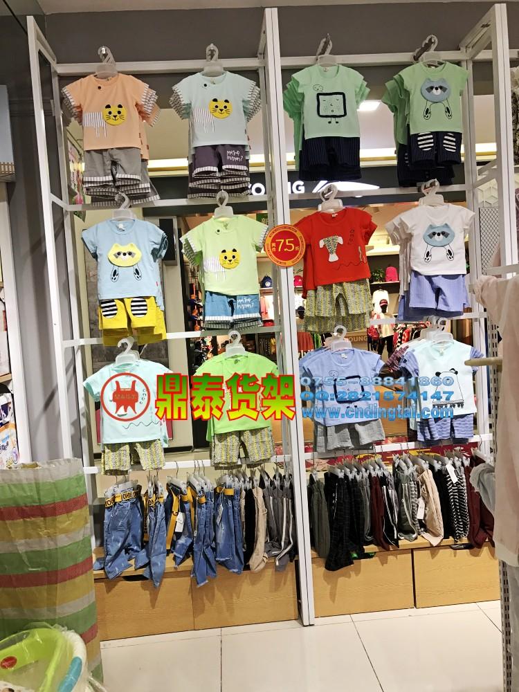 鼎泰名创货架系列 名创货架展示 母婴货架批发1
