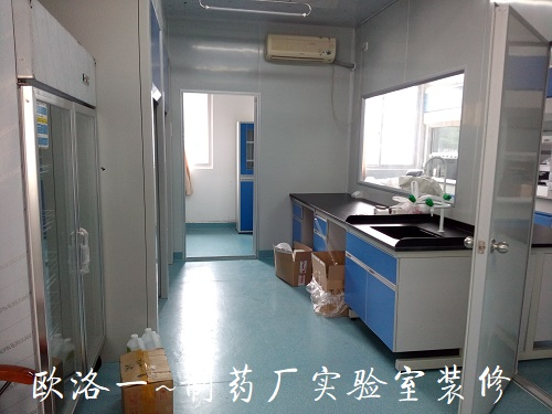 制药厂实验室装修1
