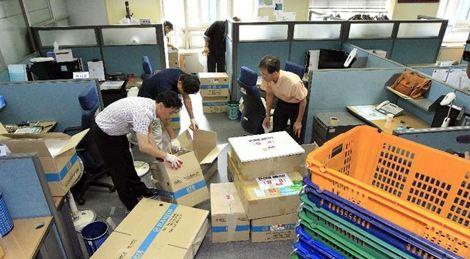 深圳公司搬家物品打包