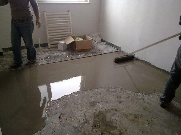 惠州水泥自流平