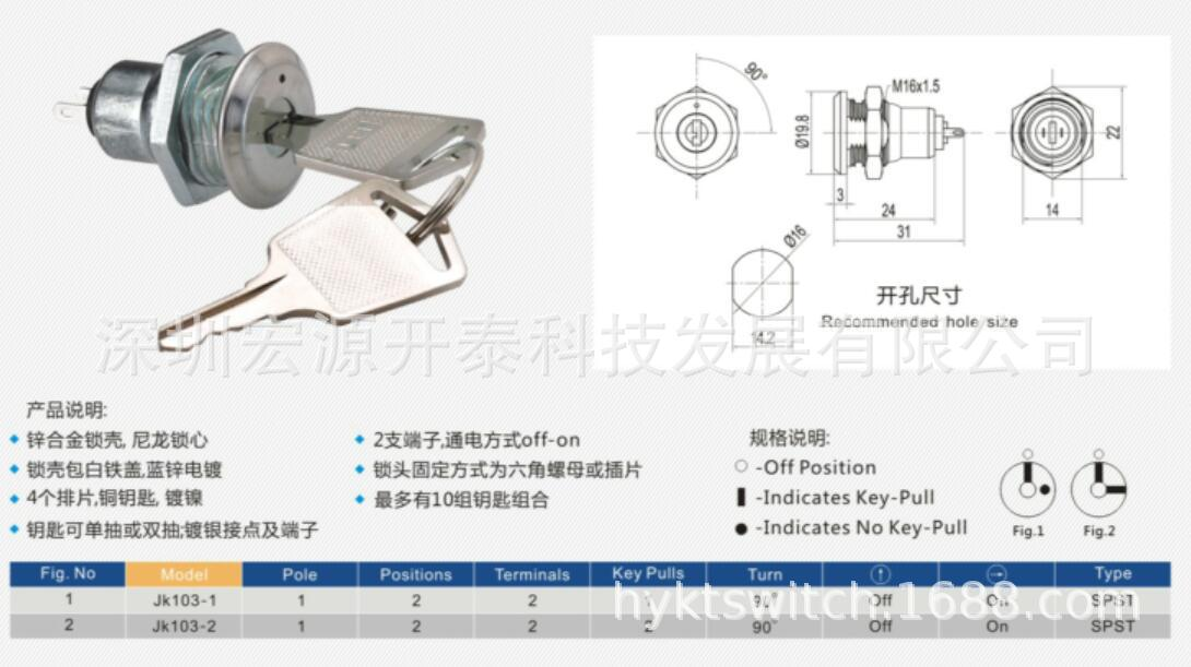 安防用电子锁1