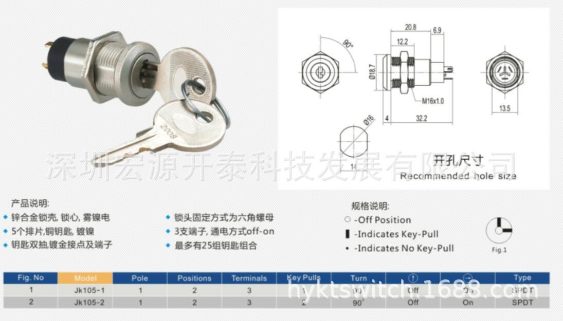 安防用电子锁3