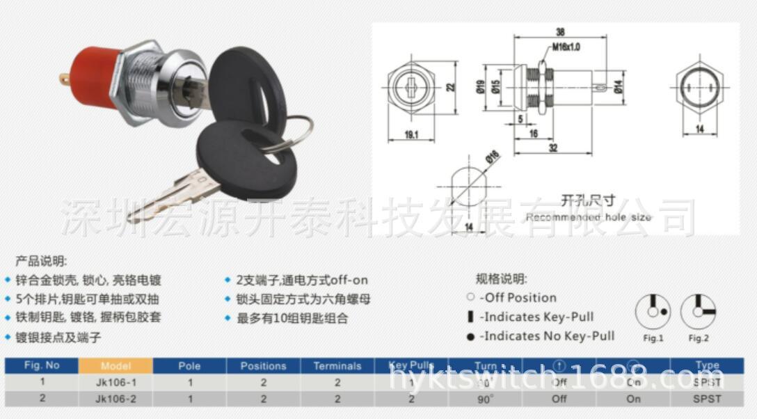安防用电子锁5