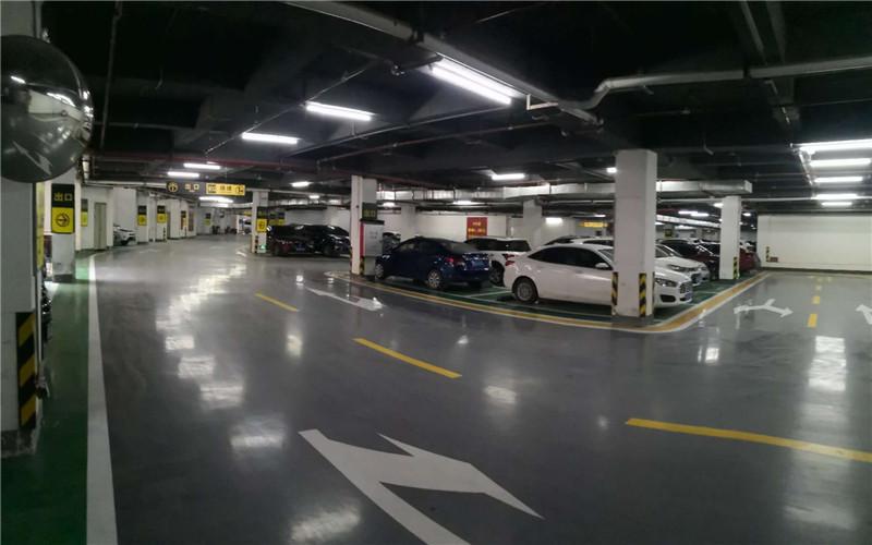 停车场地坪图片