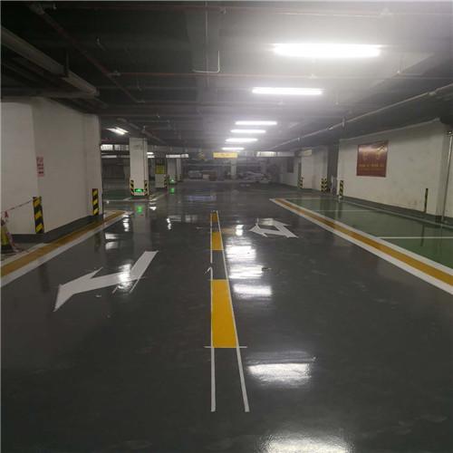 停车场画线