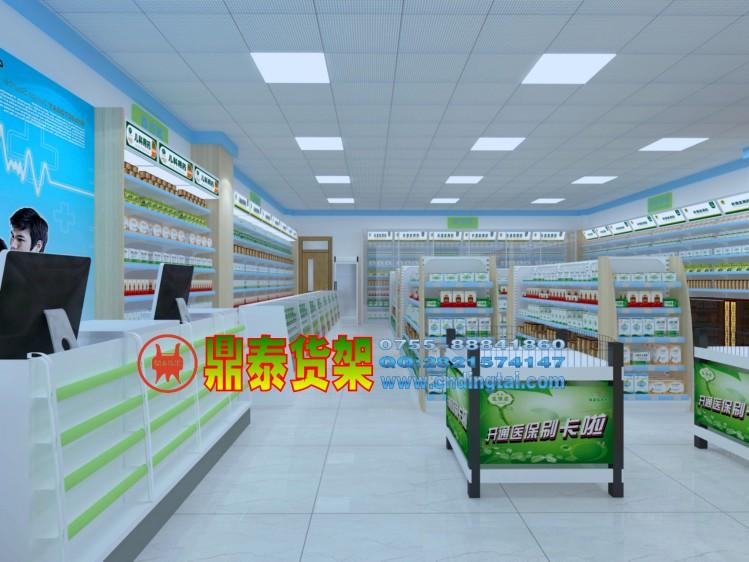 药店货架 药品货架 药房货架
