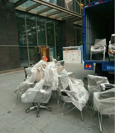 深圳福田公司搬家辦公物品打包