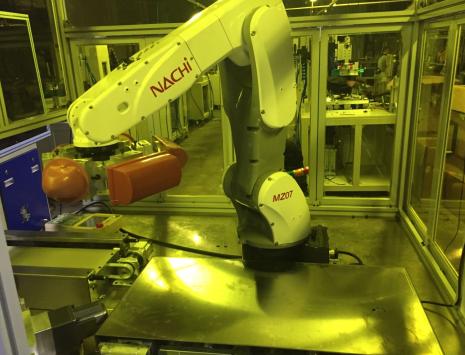 机器人印刷机