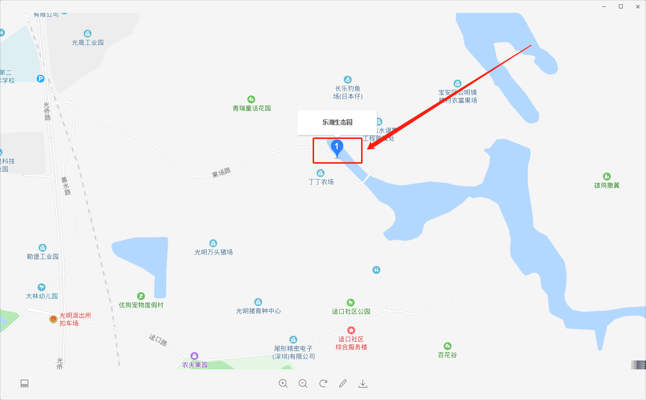 深圳农家乐乐湖生态园在哪