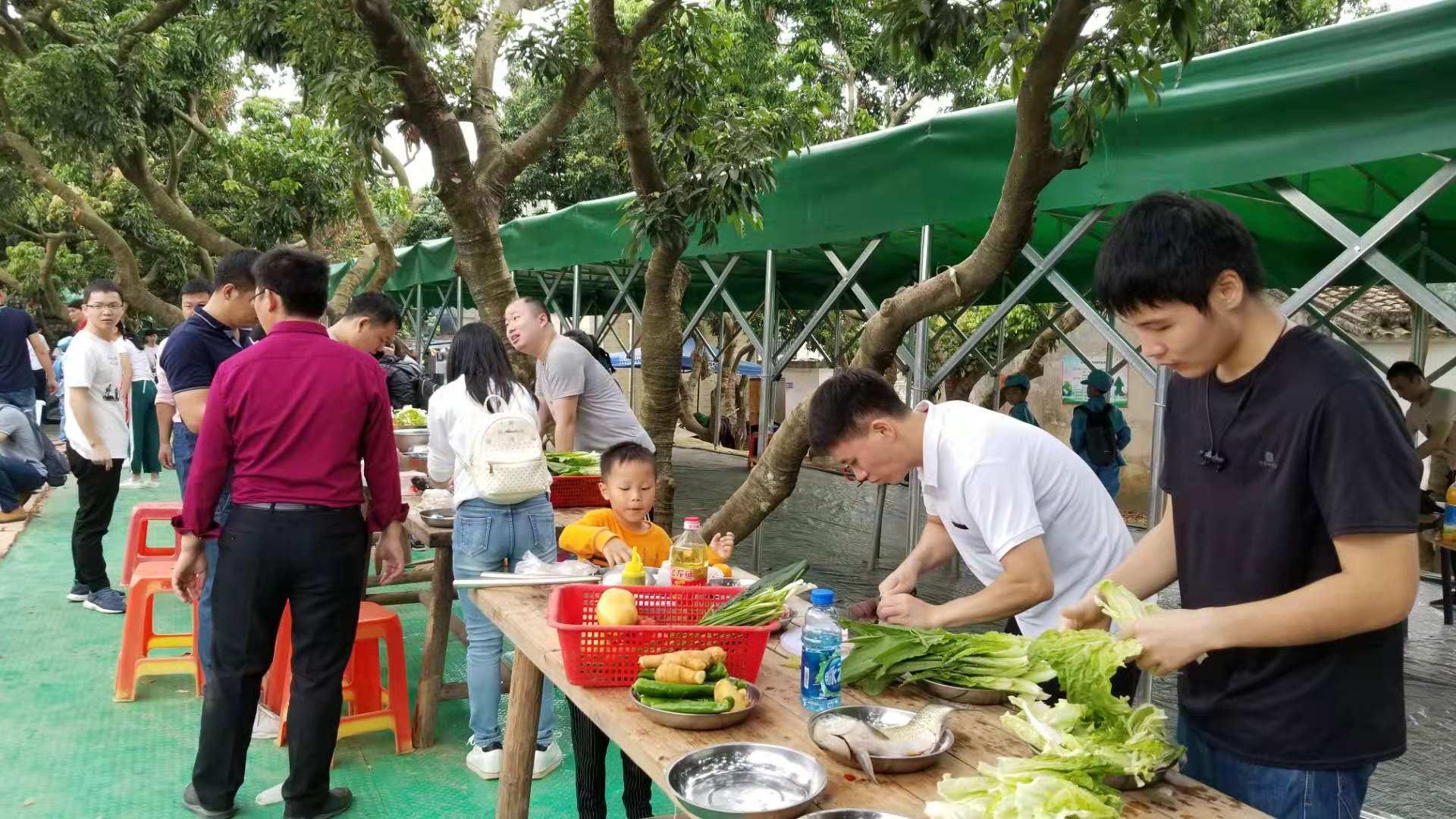 深圳农家乐野炊烧烤好玩的地方乐湖生态园