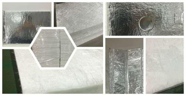 冰箱内胆隔热板及隔热芯材