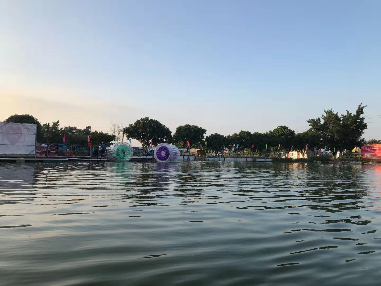 深圳农家乐-乐湖生态园水上滚筒