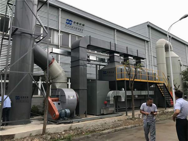 古粤环保优质催化燃烧设备2