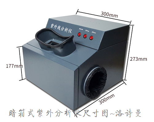 暗箱式紫外分析仪3