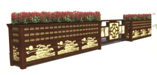 铝合金花箱