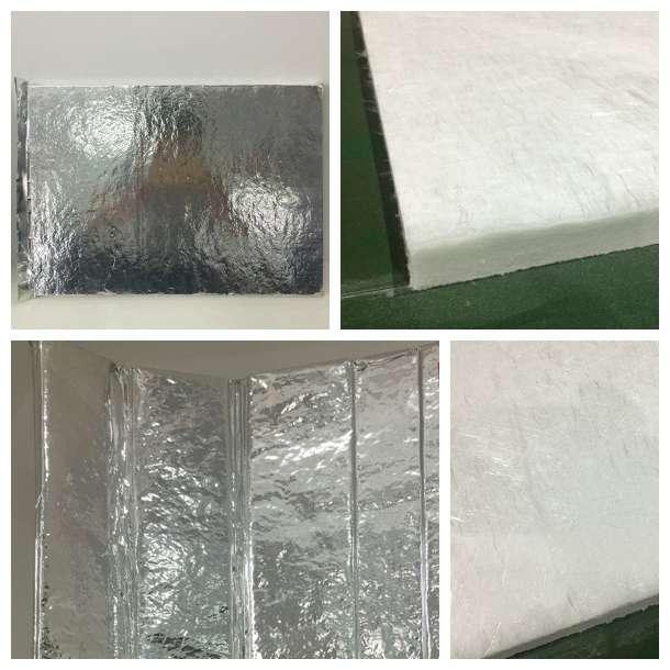 真空绝热板及短切玻璃纤维芯材