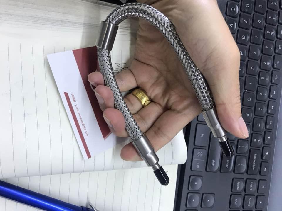 韩国SLOK推出新品取样钢瓶跟金属软管1