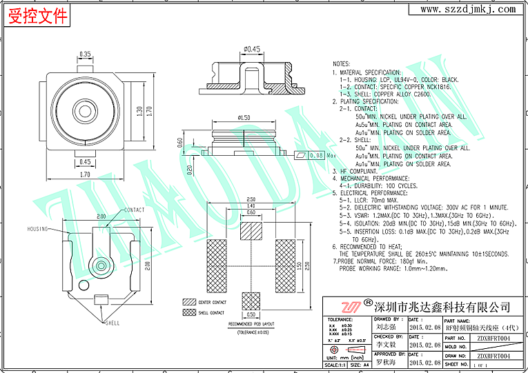 RF射頻同軸連接器