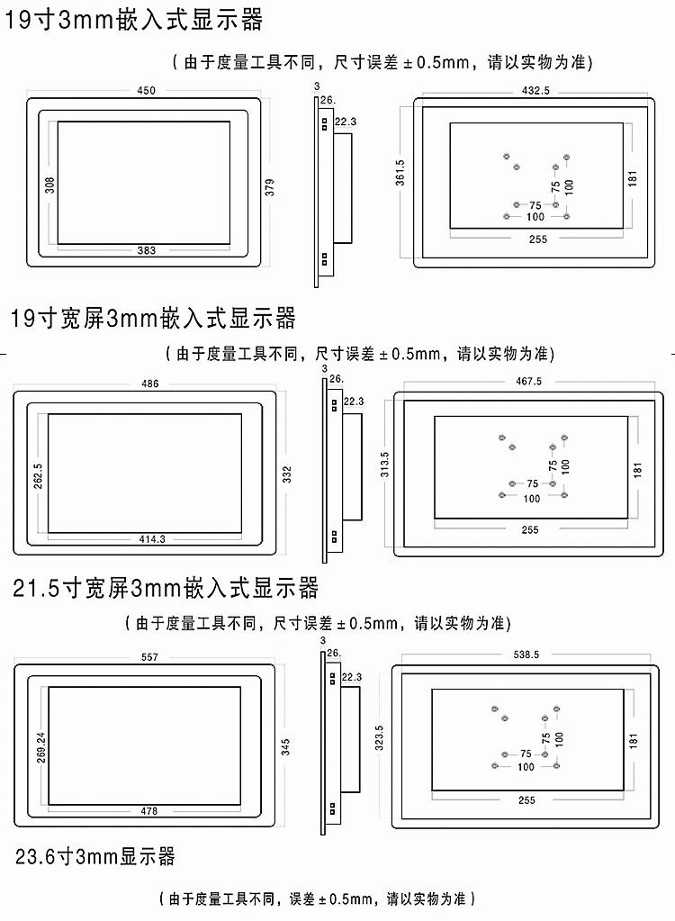 工业显示器17