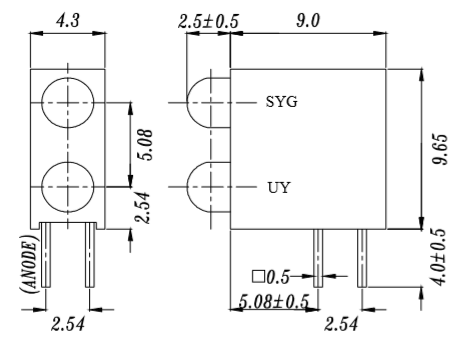 A694B尺寸圖