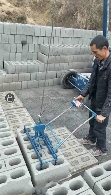 水泥砖码垛机3