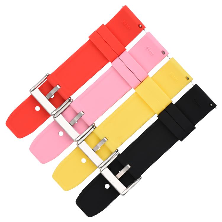 782# 电商平台热卖款完美贴合手腕硅胶手表带 20mm 22mm 24mm1