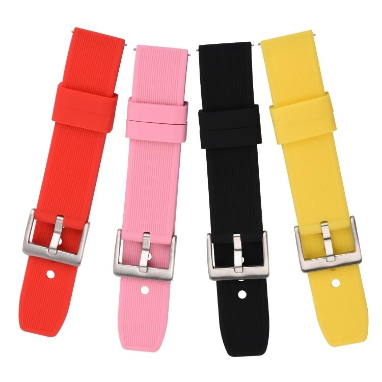 782# 电商平台热卖款完美贴合手腕硅胶手表带 20mm 22mm 24mm2