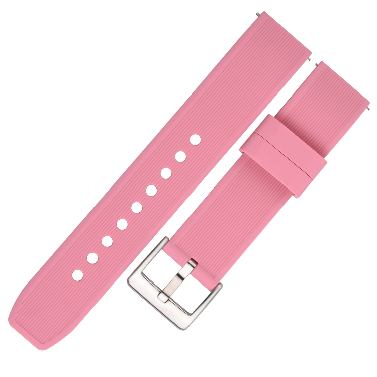 782# 电商平台热卖款完美贴合手腕硅胶手表带 20mm 22mm 24mm4