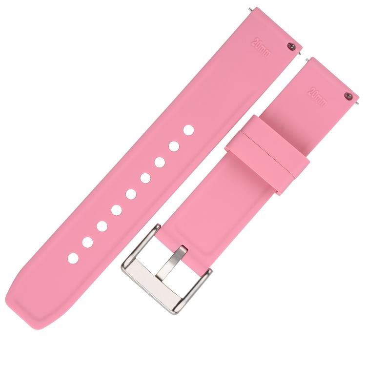 782# 电商平台热卖款完美贴合手腕硅胶手表带 20mm 22mm 24mm5