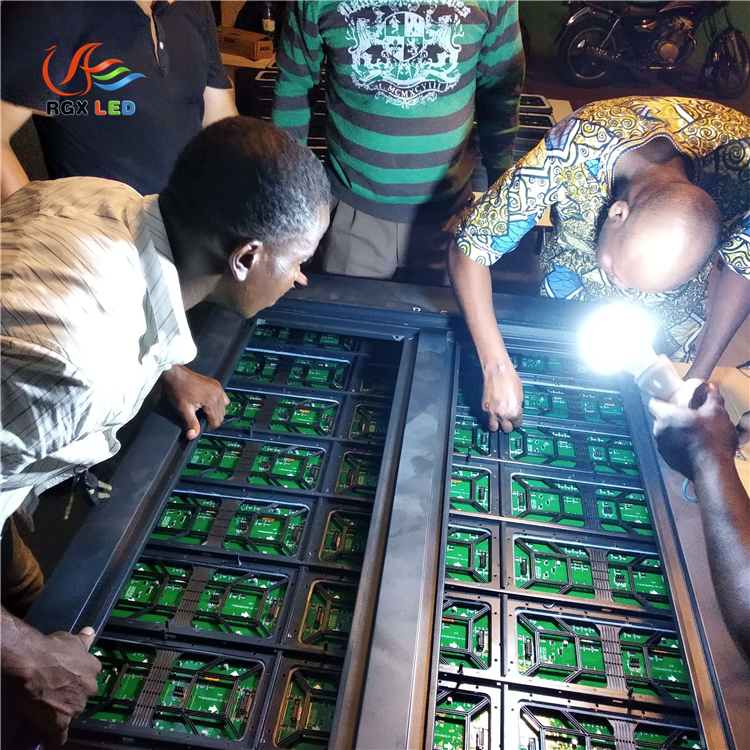 RGX goes to Togo for after-sales service2