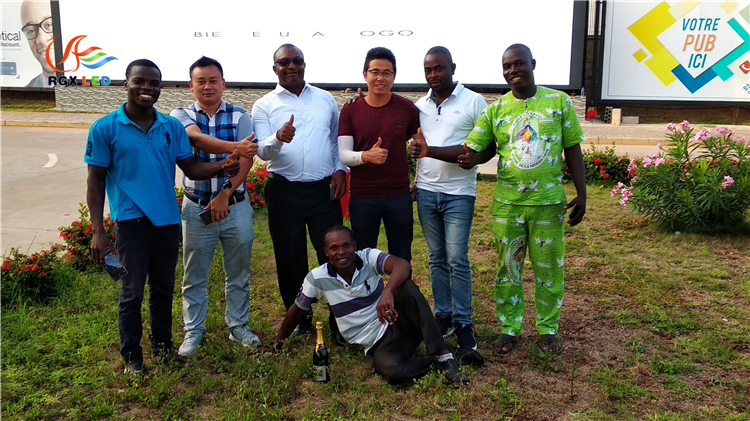 RGX goes to Togo for after-sales service3