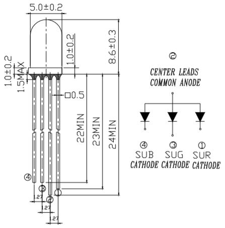 399-9全彩LED尺寸