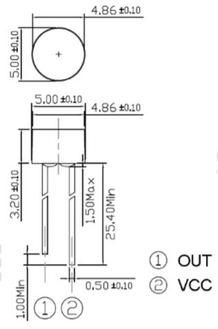 ALS PDT243-3C尺寸圖