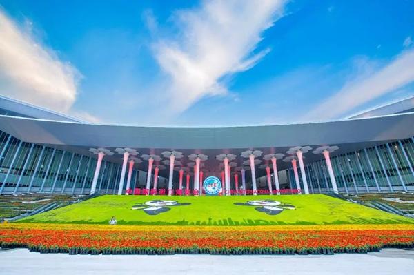 上海展会摄像   创意:吉美合影4K航拍_摇臂导播_送云图片直播021:617310001