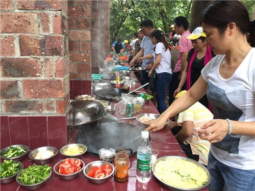 深圳農家樂野炊柴火飯自己動手