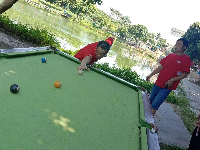 深圳农家乐乐湖生态园游玩项目桌球