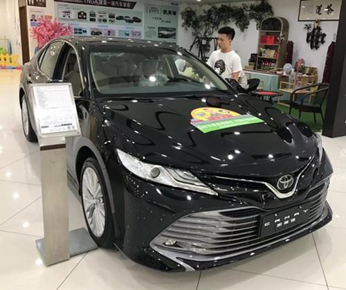 深圳自驾租车-凯美瑞