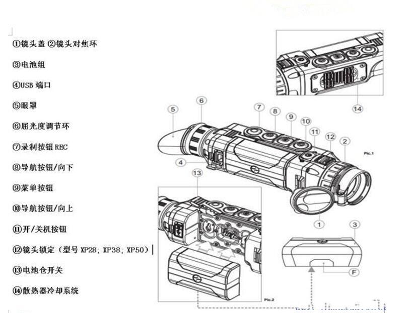 脉冲星热像仪XQ38F16