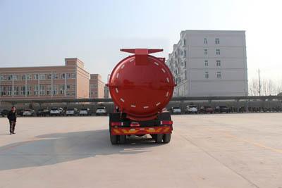 東風天龍16立方污泥自卸車3