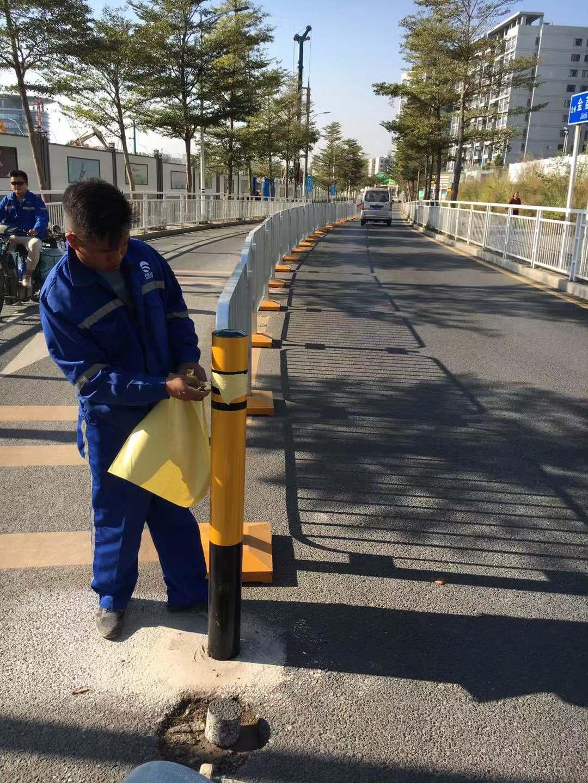 港式護欄安裝現場