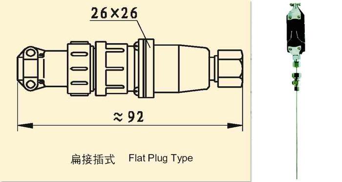 WRPK-271扁接插式鎧裝熱電偶的工作原理