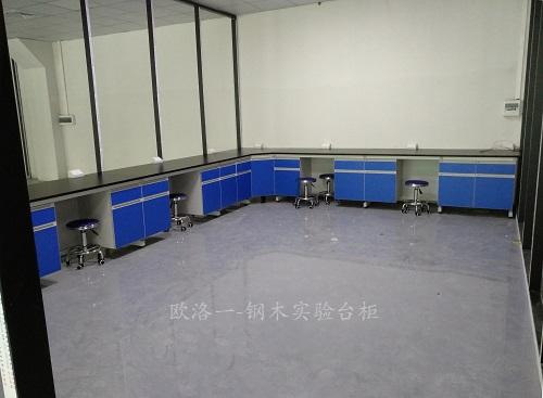 钢木实验台柜2
