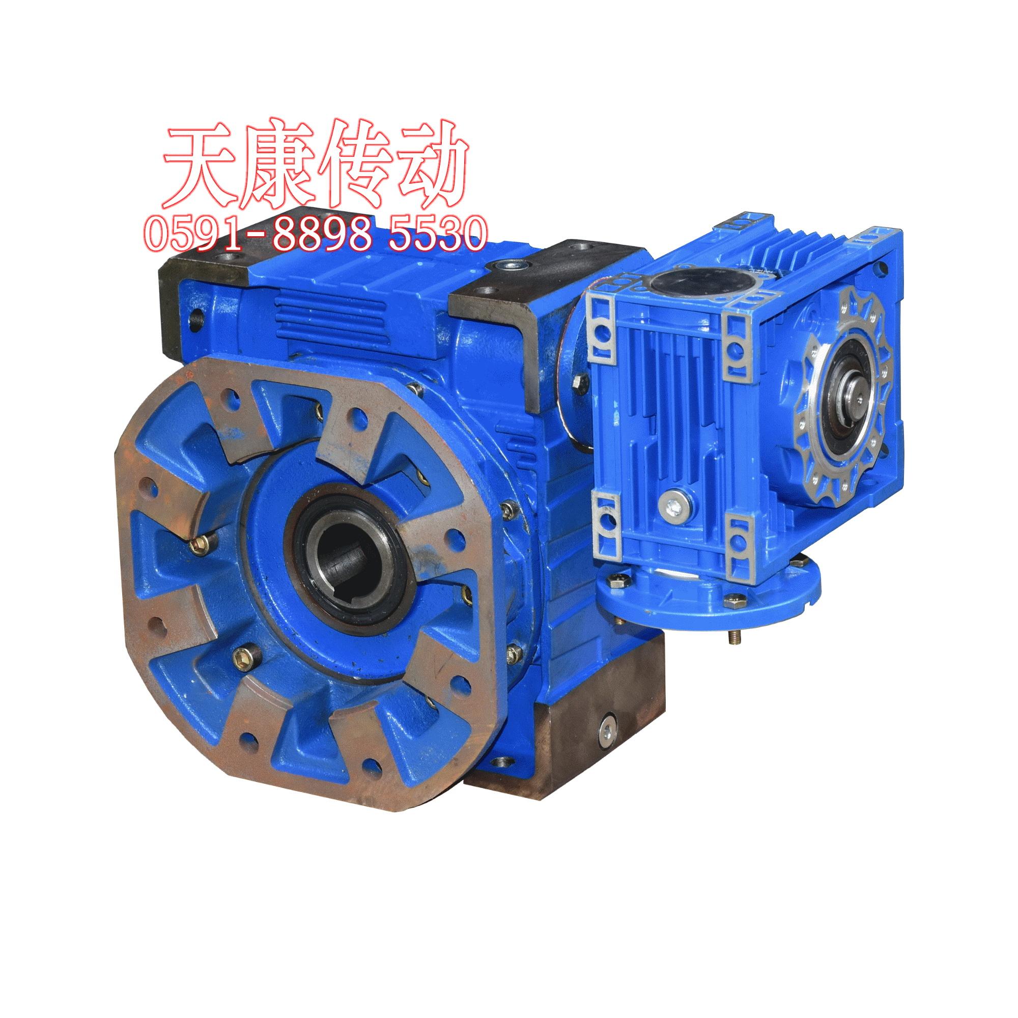 雙級蝸輪蝸桿減速機