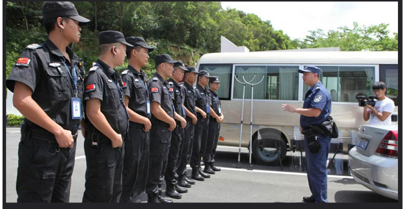 夏季保安服作訓服1