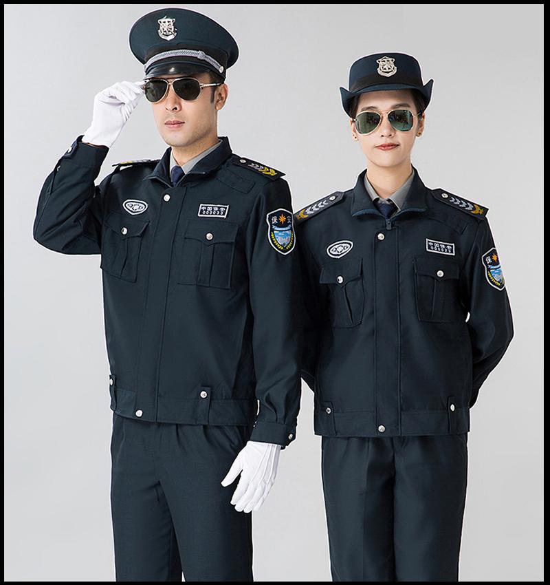 冬季保安服作訓服4