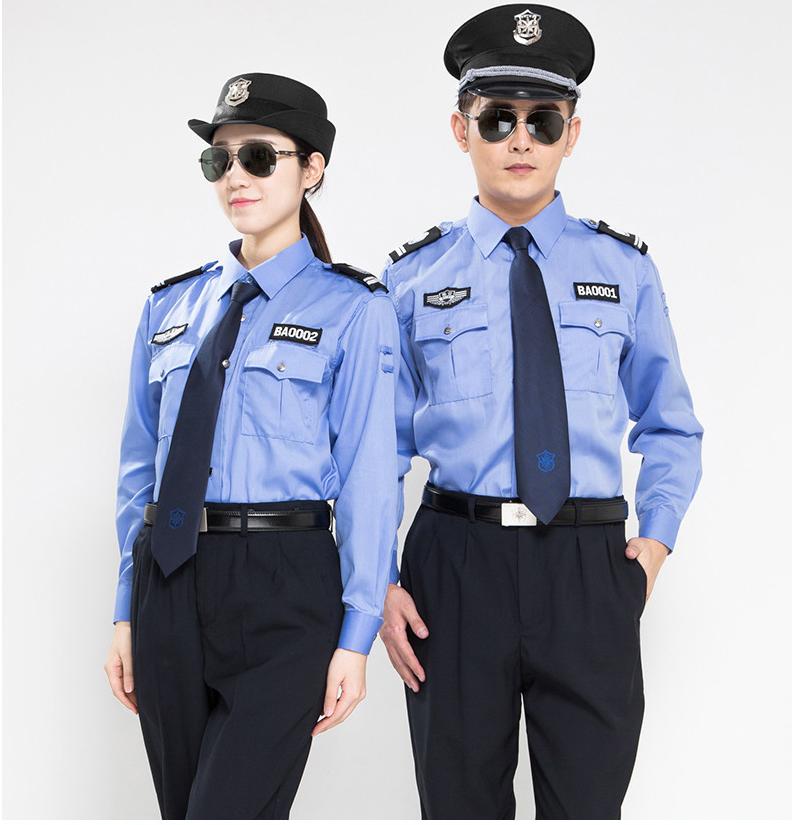 秋季保安服作訓服5