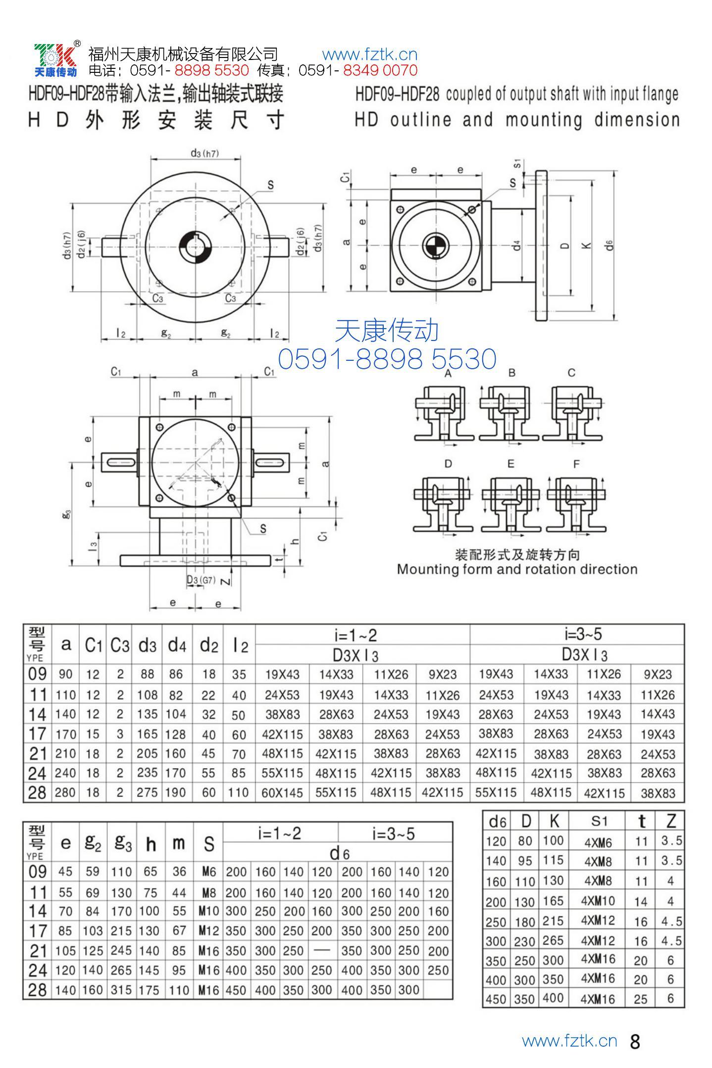 HD螺旋傘齒輪轉向器4