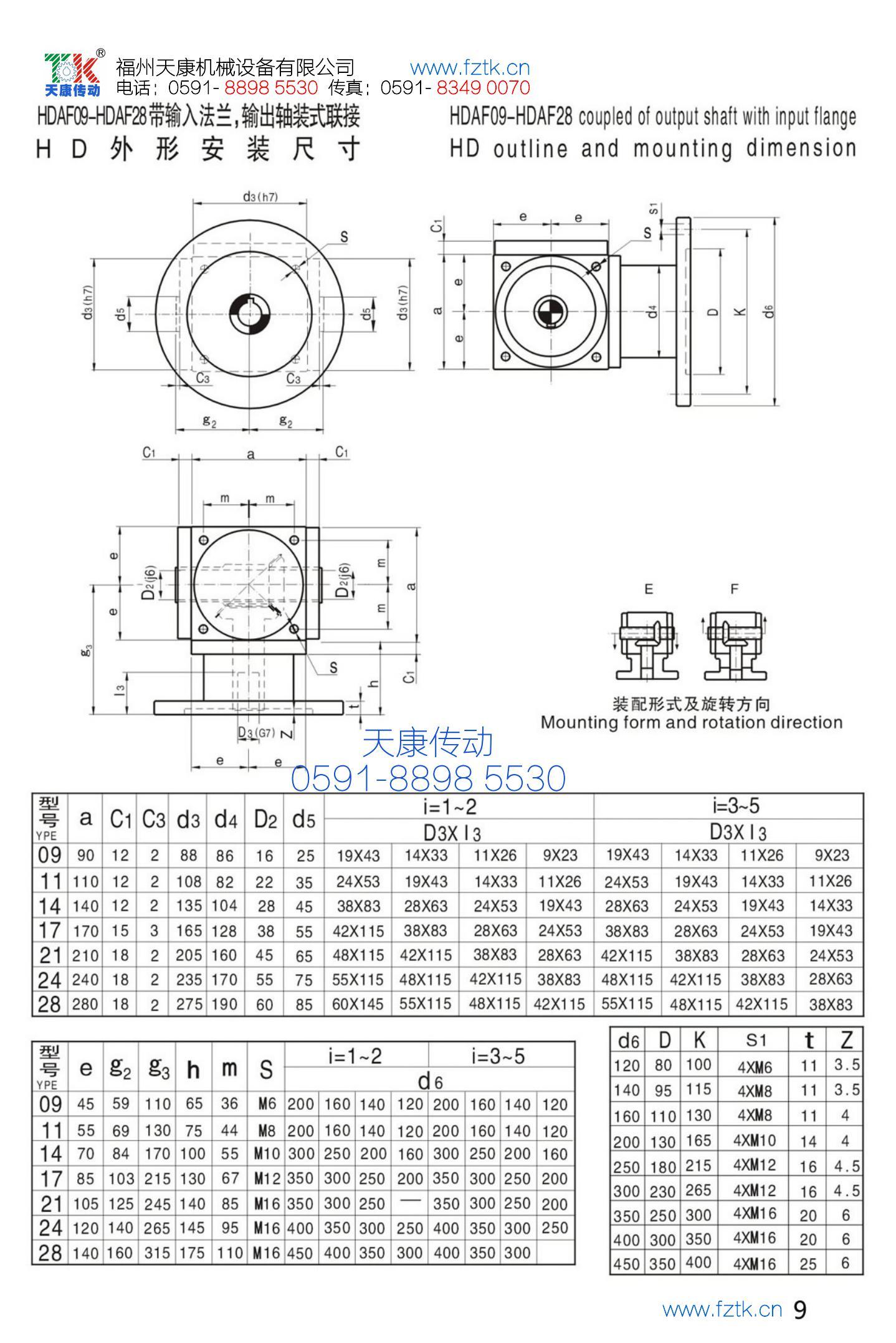 HD螺旋傘齒輪轉向器5